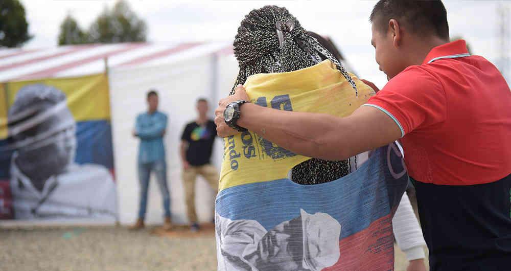 La RNDP celebra la culminación del proceso de dejación de armas por parte de las FARC-EP