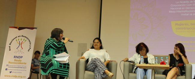 Conversatorio Mujeres, paz y territorio del Nodo Noroccidente