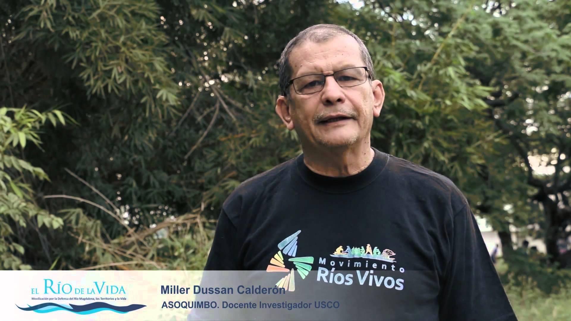 Pronunciamiento de la RNDP Criminalización y hostigamiento judicial al defensor de derechos humanos Miller Dussan Calderon